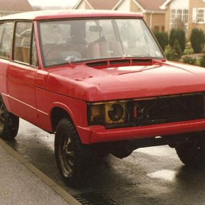 Range Rover. Wish I still had this one