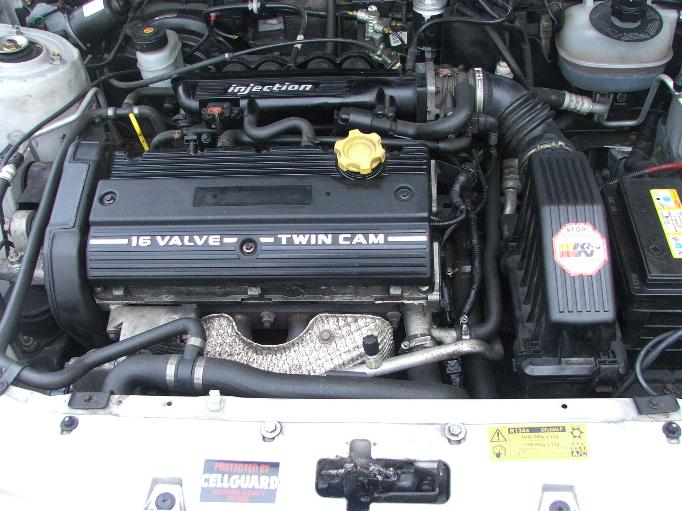 File Rover Metro Gti Engine Bay With Modified K Series
